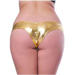 Pink, Blue, Gold or Silver Metallic Knickers