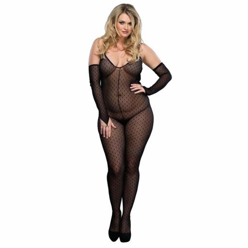 Leg Avenue Bodystocking & Gloves