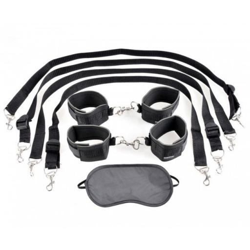 Fetish Fantasy Cuff & Tether Set.