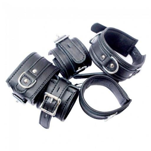 Five Piece Locking Restraints