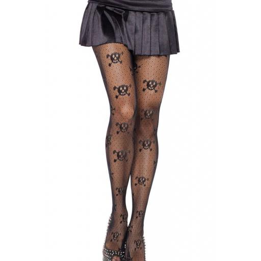 Black Skull & Cross-bone Tights