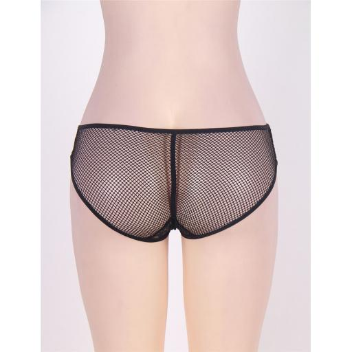 Sexy Black Fishnet Knickers