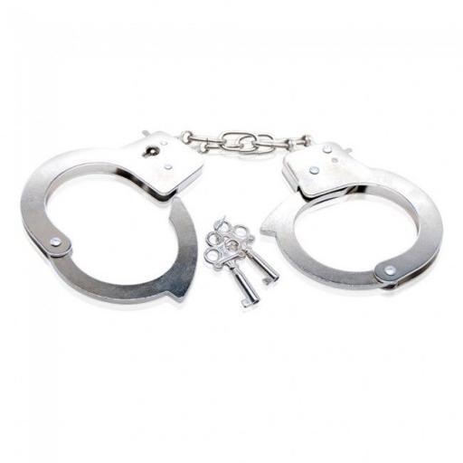Fetish Fantasy Beginner's Metal Handcuffs