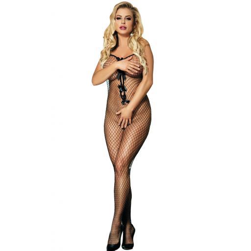 Sexy Black Fishnet Bodystocking