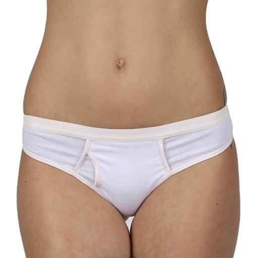 Ladies Sexy Y Front Thong Knickers